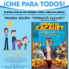 'Operaci� Cacauet' a la 1a sessi� de cinema 'Autism Friendly'