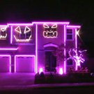 Espectacular il�luminaci� de Halloween