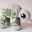 Adorable AT-AT walker