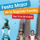 Festa Major al barri de la Sagrada Fam�lia de Barcelona