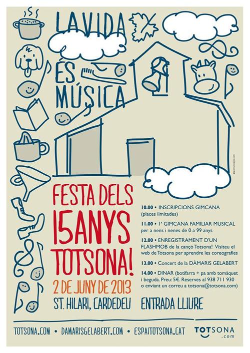 Festa dels 15 anys de Totsona!
