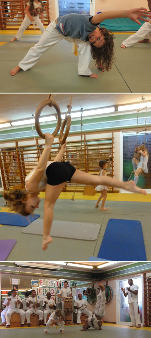 Noves activitats a Lenoarmi: acrobàcies i capoeira!