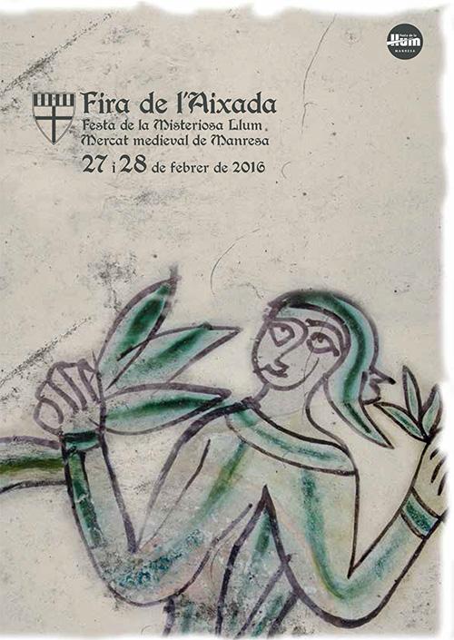 Fira de l'Aixada, Mercat medieval de Manresa