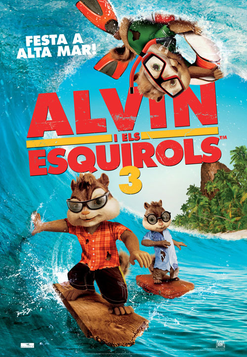 Alvin i els esquirols 3