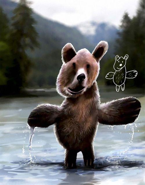 Fotos d'animals dibuixats pels nens