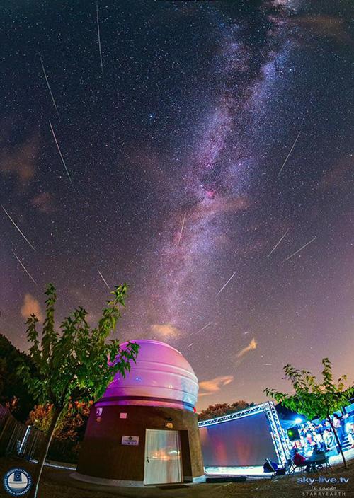 Oferta Bassegoda Park: allotjament + bateig a l'Observatori Astronòmic Albanyà, atorgat Parc Internacional de Cel Fosc
