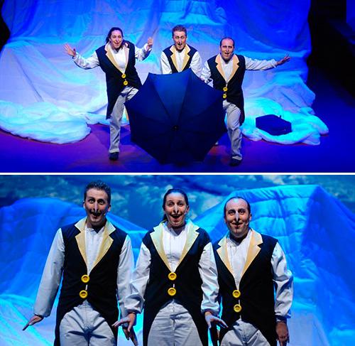 Guanyadors d'entrades per 'A l'arca a les vuit', al Teatre Romea