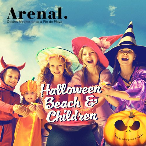 Halloween Beach & Children a l'Arenal Restaurant