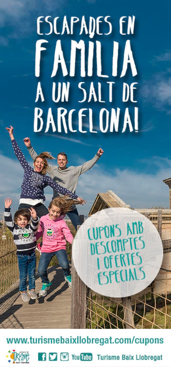 Nous descomptes per fer sortides en família a un salt de Barcelona