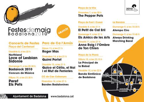 Festes de Maig Badalona 2010