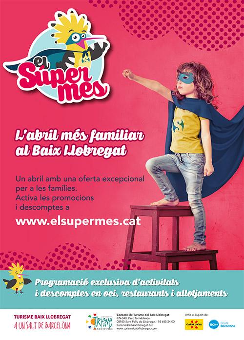 El SuperMes, l'abril més familiar al Baix Llobregat