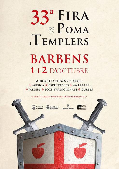 33a Fira de la Poma i Templers a Barbens