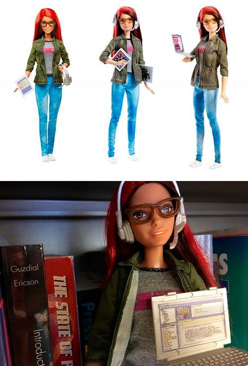 Una Barbie programadora de videojocs