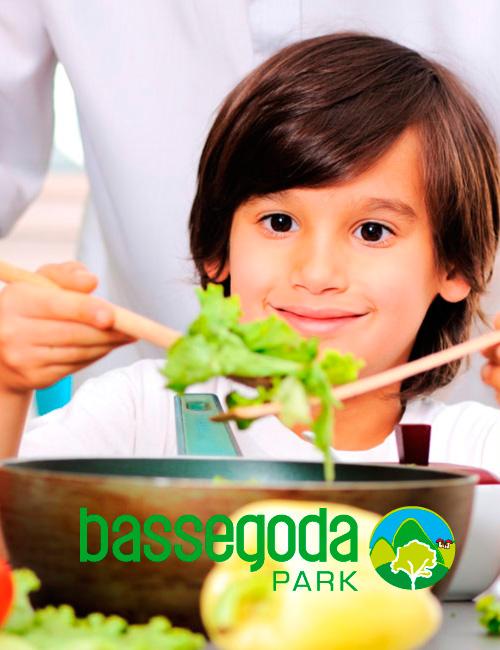 Cuinem amb els Petits de la casa al Bassegoda Park