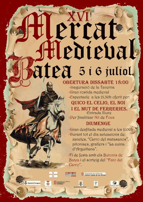 XVI Mercat Medieval de Batea