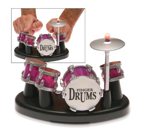 Bateria per tocar amb els dits