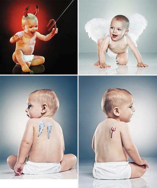 Els bebès són bons quan neixen?