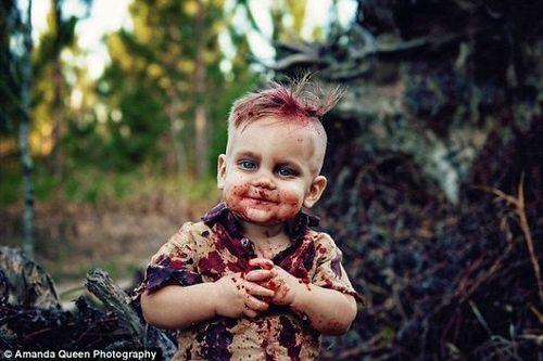 Tinc un bebè zombie!
