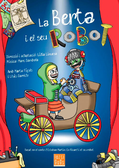 La Berta i el seu Robot al Teatre Regina