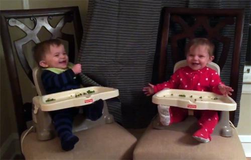 Què hi ha millor que un bebè rient?