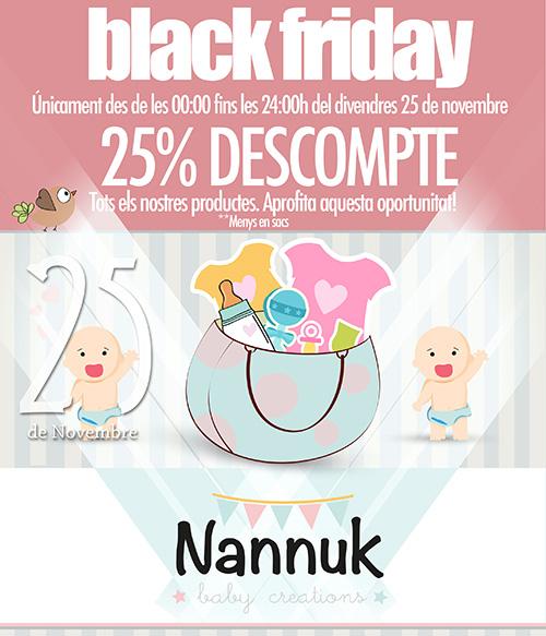 Arriba el Black Friday a Nannuk!