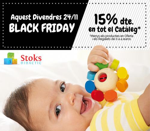 Black Friday a la botiga de joguines StoksDidactic
