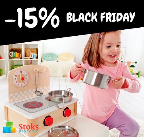BlackFriday a la botiga de joguines StoksDidactic