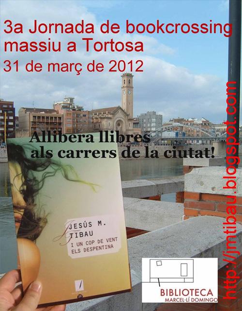 3ª Jornada de bookcrossing massiu a Tortosa