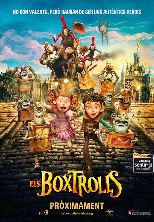 'Els Boxtrolls' arriben als cinemes de Catalunya