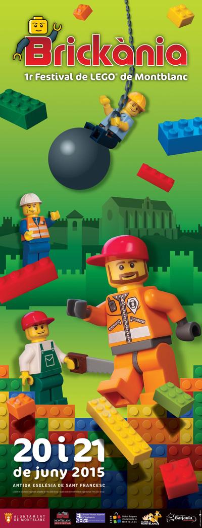 Brickània, 1r Festival de Lego de Montblanc