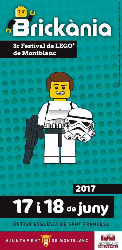 Brickània, 3er Festival de Lego de Montblanc