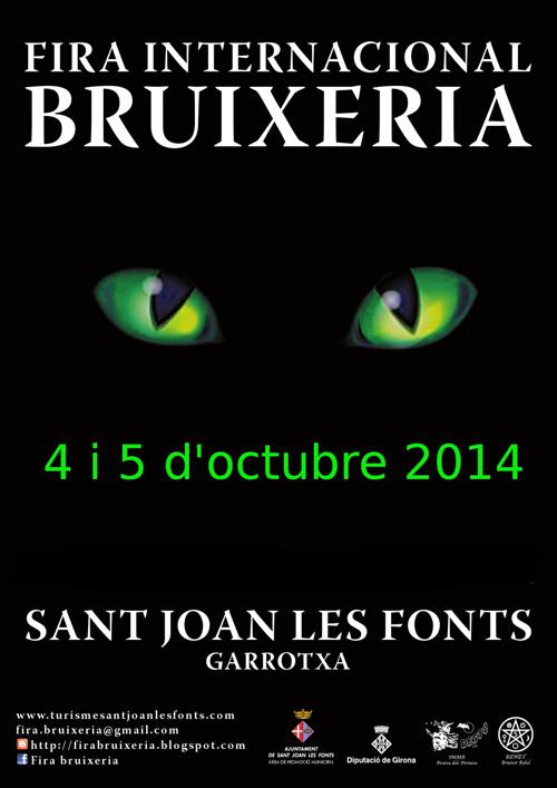 Fira Internacional de Bruixeria a Sant Joan de les Fonts