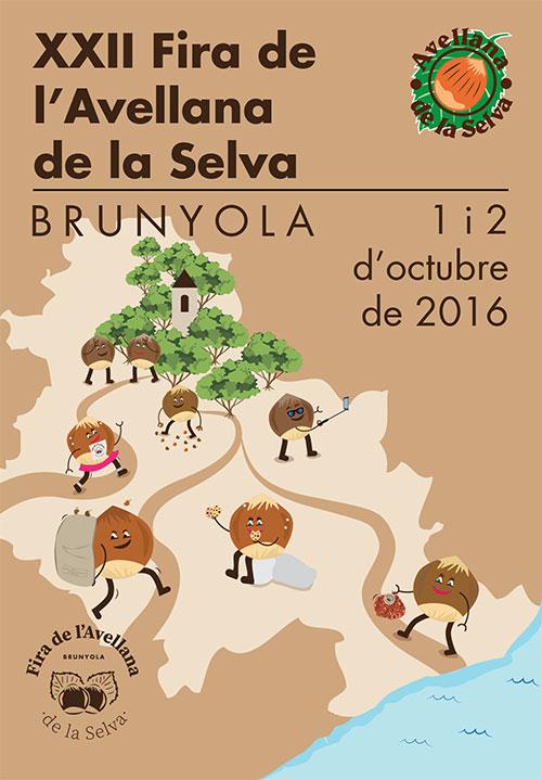 XXII Fira de l'Avellana de la Selva a Brunyola