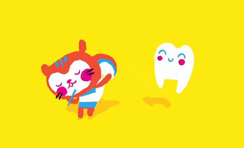 A netejar-se les dents!