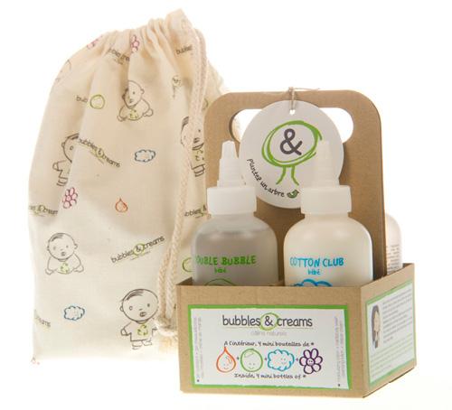 Cosmètics naturals pel teu bebè