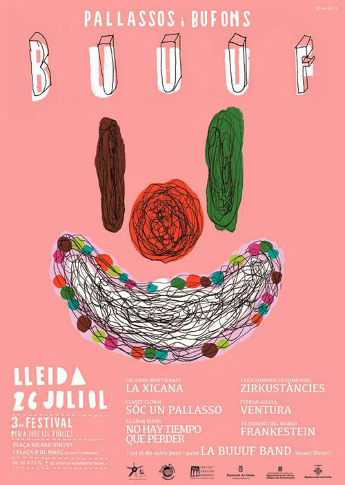 BUUUF! Festival de pallassos i bufons a Lleida