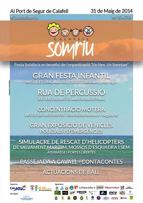 Festa Solidària Calafell Somriu