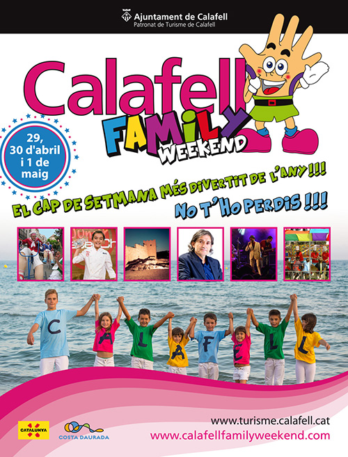 Calafell Family Weekend