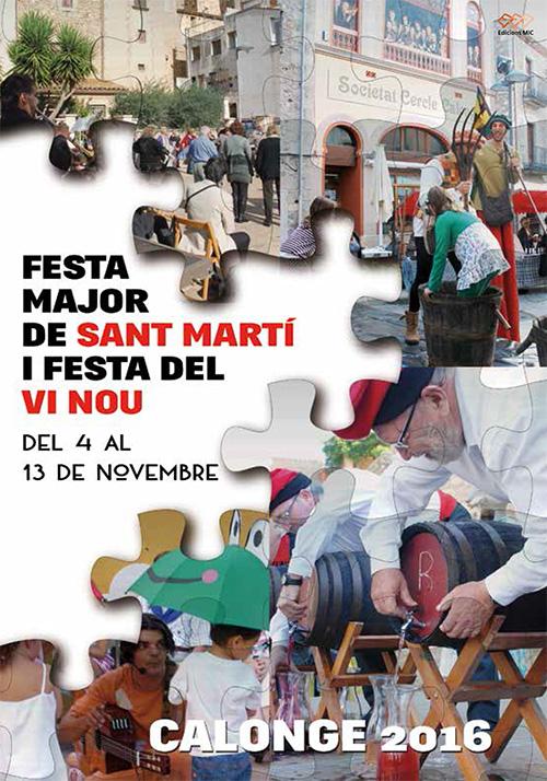 Festa Major de Sant Martí i Festa del Vi Nou a Calonge