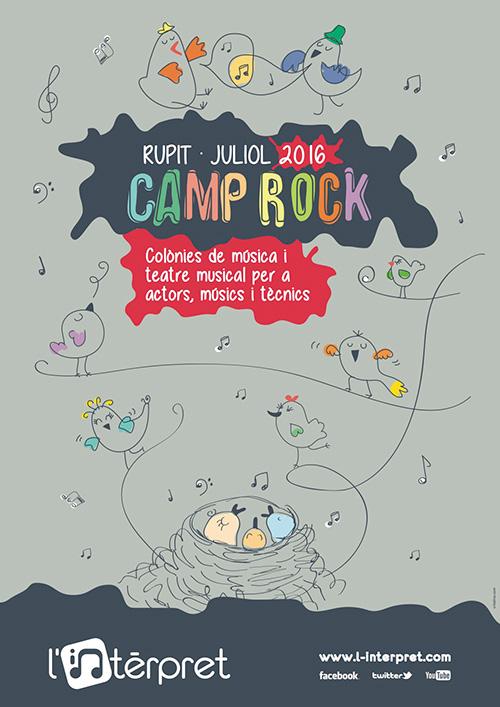 Colònies d'estiu a L'Intèrpret Camp Rock