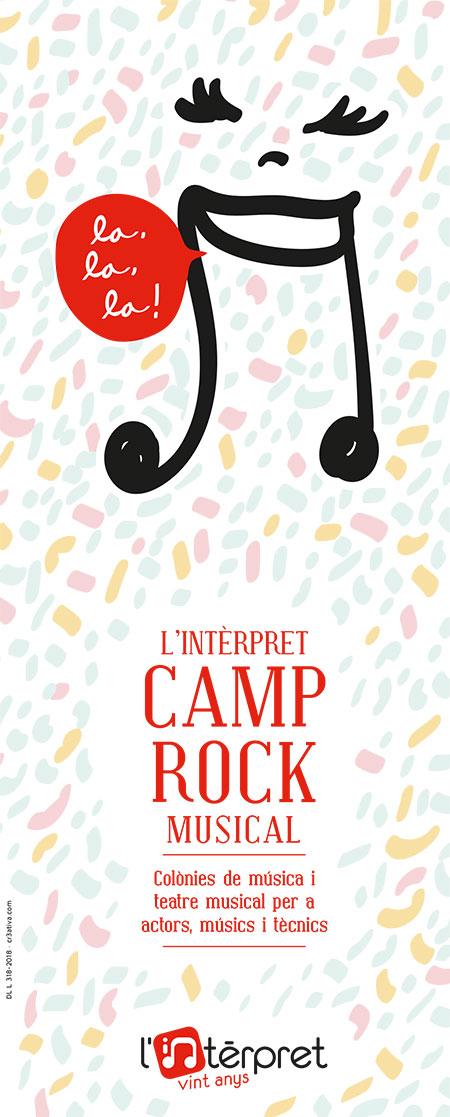 Colònies de música i teatre musical a l'estiu, amb L'Intèrpret Júnior Camp Rock