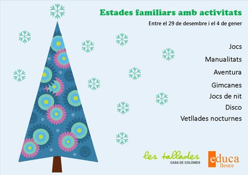 Estades de Nadal a Les Tallades