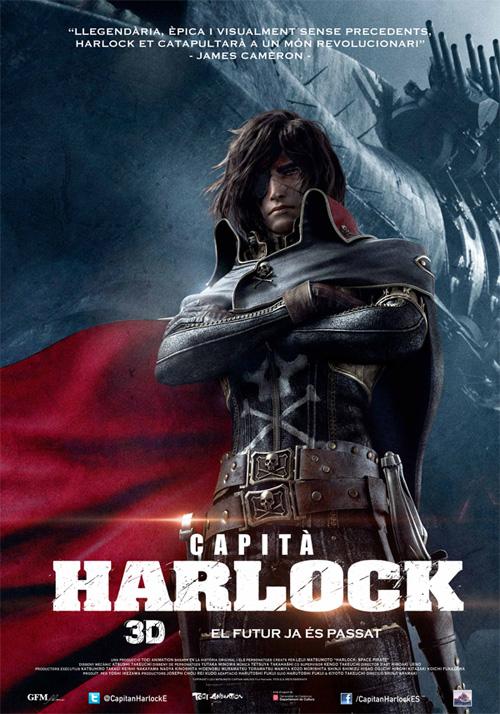 Capità Harlock, als cinemes i en català!
