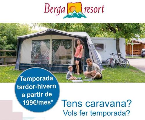 Temporada tardor-hivern a Berga Resort