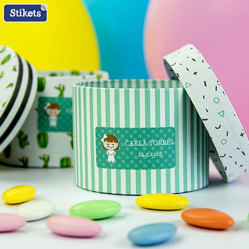 Guanyadors de 3 vals de 50 euros de Stikets per decorar els detalls i regals de les celebracions dels vostres fills