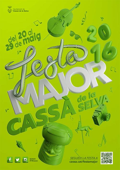 Festa Major a Cassà de la Selva