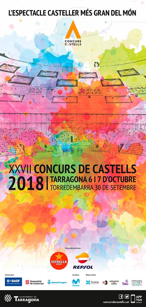 XXVII Concurs de Castells a Tarragona