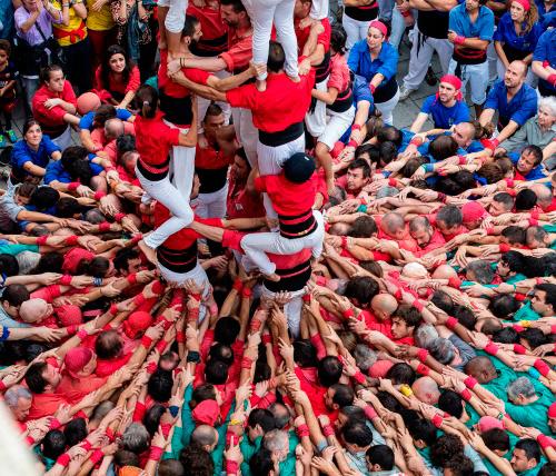 Diades castelleres a Barcelona