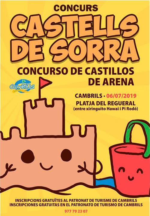 Concurs de Castells de Sorra a Cambrils