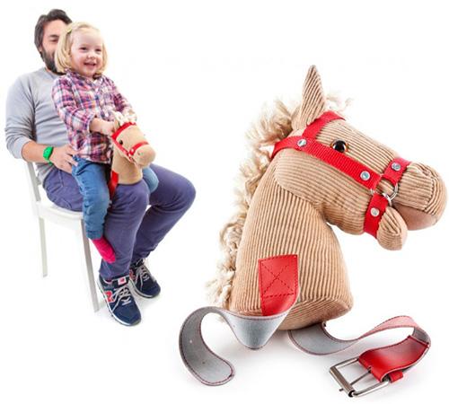 Un cavall per la cama del papa